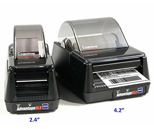 """Cognitive DLXI Label Printer, DT, 4.2"""", 203DPI, 8MB, 5IPS, 100-240VAC, USB/A, Serial, Parallel, US PWR (USB cable included)"""