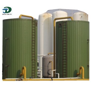 Advanced Technology and Self Control frp biogas digester