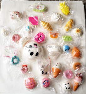 2018 Hot selling squishy rubber toys