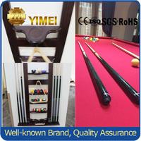 superior billiard pool ball cue rack for display