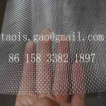 Ss 304 1mm Stainless Steel Wire Mesh,10 X 10 - 18 X 18