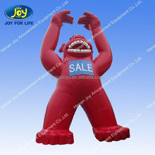 Ape shape giant inflatable characters for hot sale