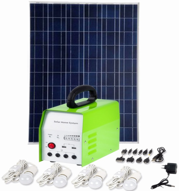 10W solar lighting system with controller,home solar systems with solar panel