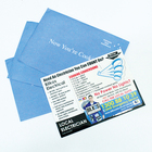 paper magnetic business card fridge magnet flyer with envelope packing