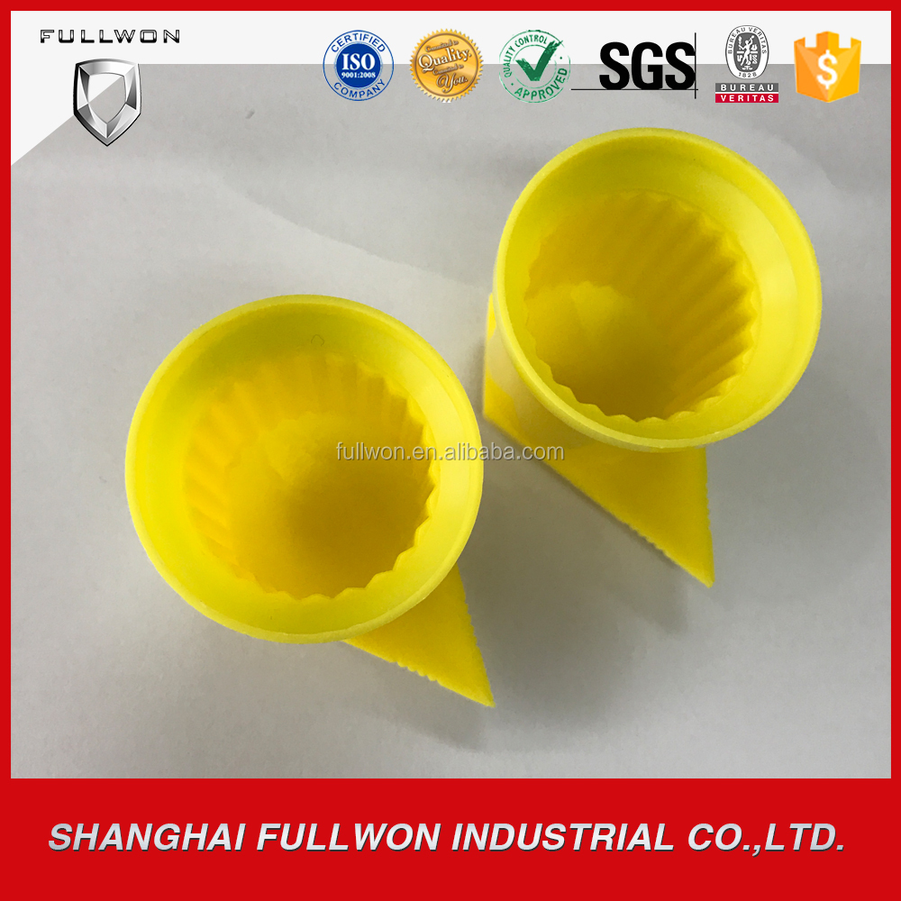 widely used Low price yellow Wheel Nut/Wheel Locker Indicator for 33mm