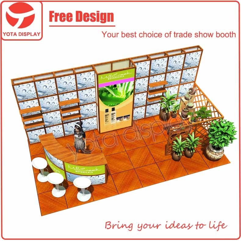 Yota 10x20 Trade Show Expo Booth Design Exhibition Booth Trade Show