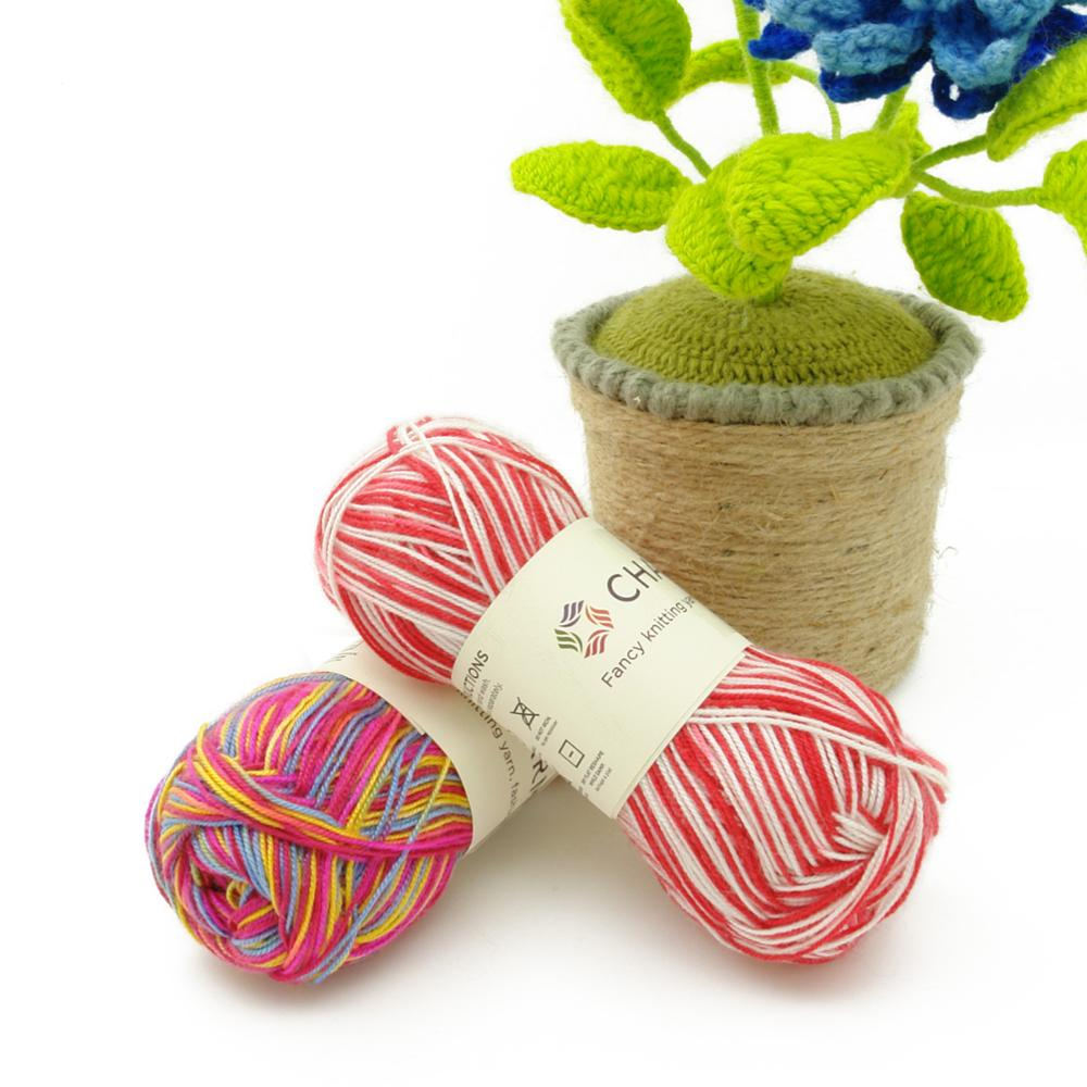 Spaghetti Latex Yarn Polyester Yarn Crochet Spotlight For Hand