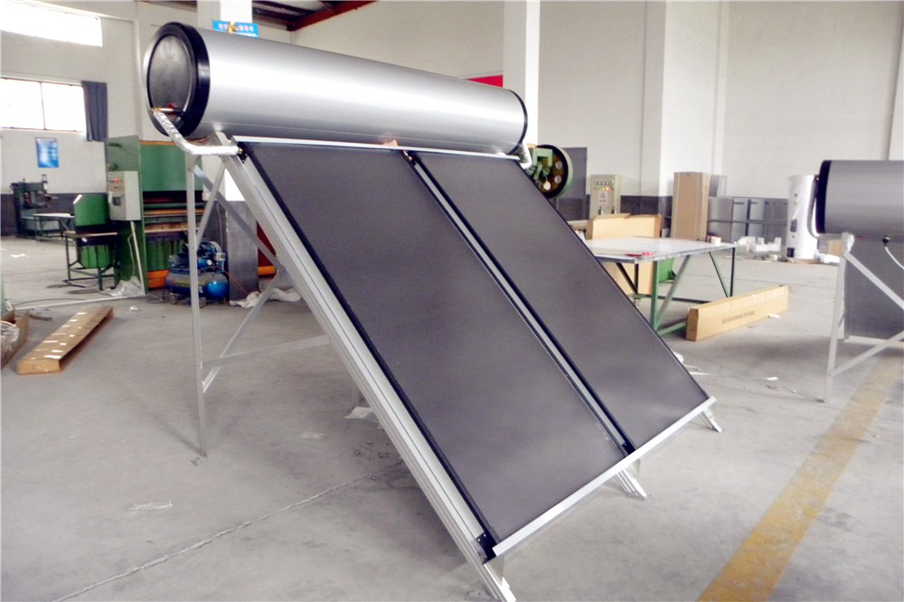 Flat Panel Solar Water Heater Use For Sloop Or Flat Roof Fast ...