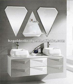 European bathroom design wash basin mirror cabinet p030 for Wash basin mirror price