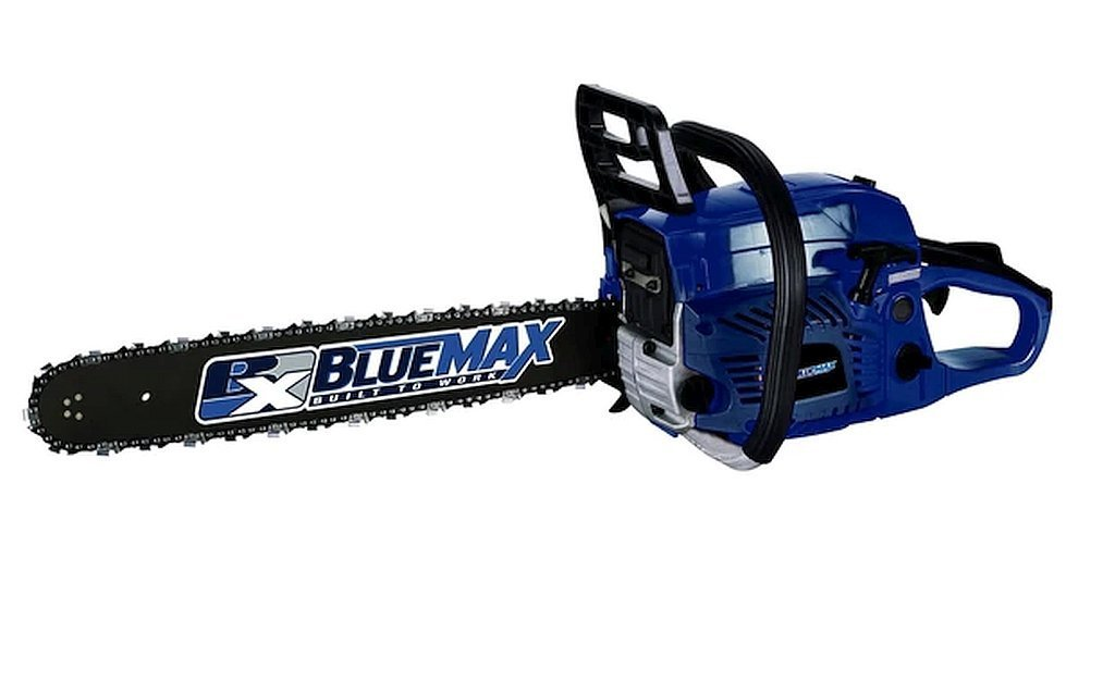 20-Inch Bar And Chain 51.5cc Engine Displacement Gas Chainsaw 325-Inch Pitch/.50 L Fuel Tank And .24 L Oil Tank, Dimensions 21Lx12Wx13H