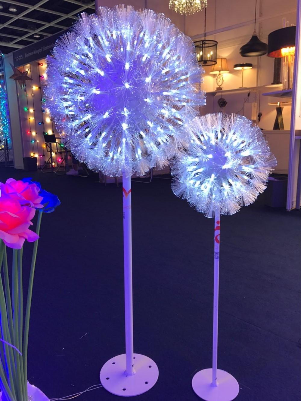 Outdoor Lighting Dandelion Plant Floor Lamps Shenzhen