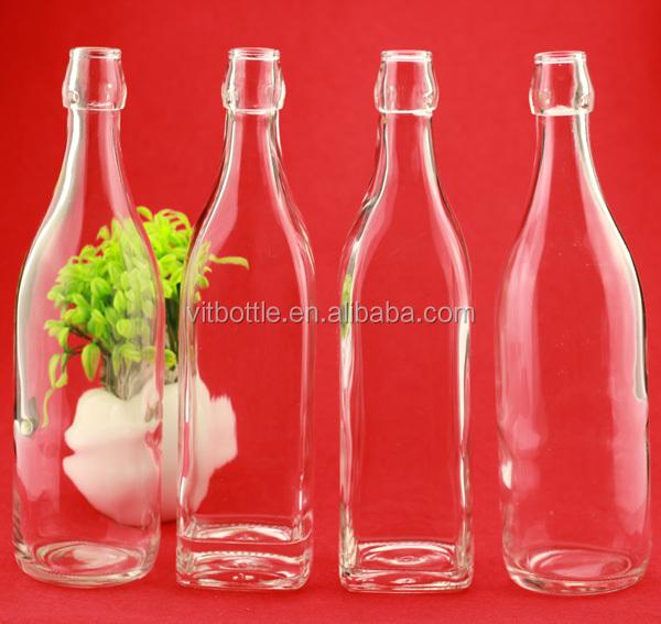 16 oz 500 ml 750 ml unique conception bouteille en verre de boissons de jus de fruits bouteille. Black Bedroom Furniture Sets. Home Design Ideas