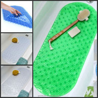 Bubble Bath & Shower Anti-Slip Mat, Made with Microban