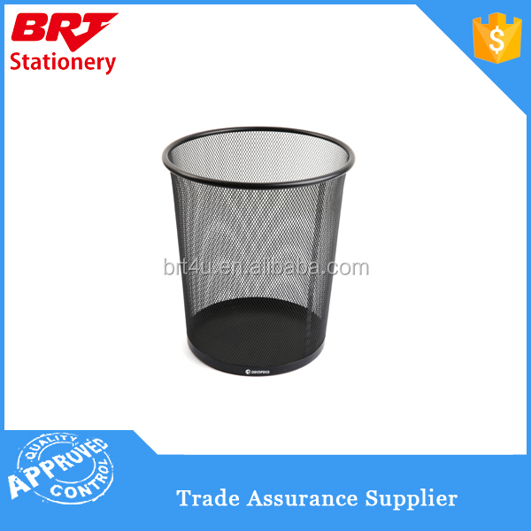 Metal Mesh Waste Paper Basket Rubbish Bin