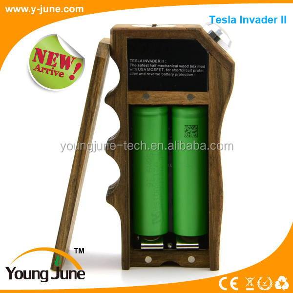 HTB14NRIHXXXXXbbXVXXq6xXFXXXd 2015 new recoverable fuse tesla invader mod e cigarette wood box Cloud Chasers Mechanical Box Mod at readyjetset.co