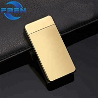 Classic Lighter FR-607 Various Colors USB Lighter Free Laser OEM Lighter