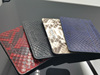 exotic skin products man real genuine python skin wallet