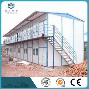 High Level Fast Install China Prefab House Manufacturer Steel Shed