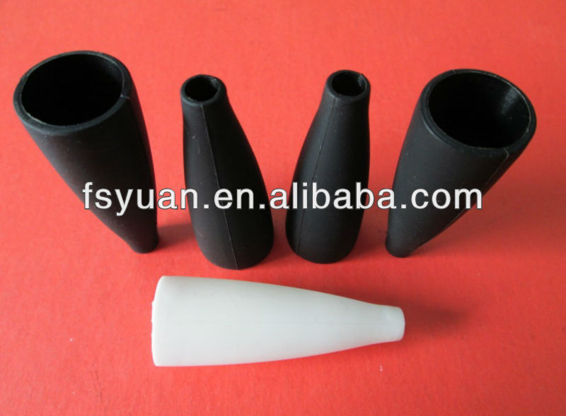 rubber protective sleeve finger protection sleeve black rubber hole plugs