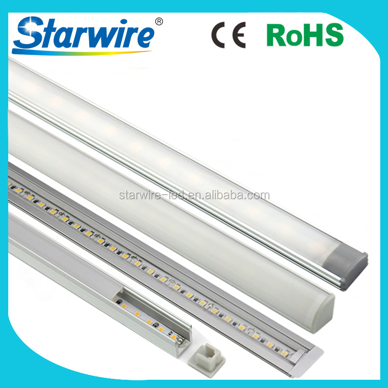 Factory different size U type V type T type linear light 12v led rigid bar