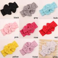 2016 the new cotton children's bow hair band,Kids bow Head bands