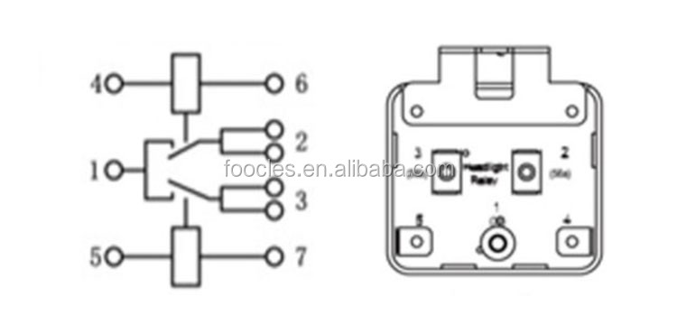 Chinese Zhejiang Auto Parts Market Iso Terminal Pin 12volt Relays