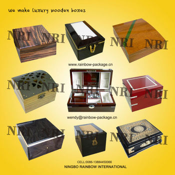 Luxury Wine BoxLuxury Leather BoxJewelry BoxAnd Gift Box Set
