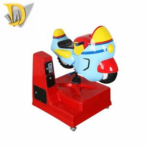 Dream World Entertainment indoor arcade motor ride racing car games coin operated kiddie ride for sale