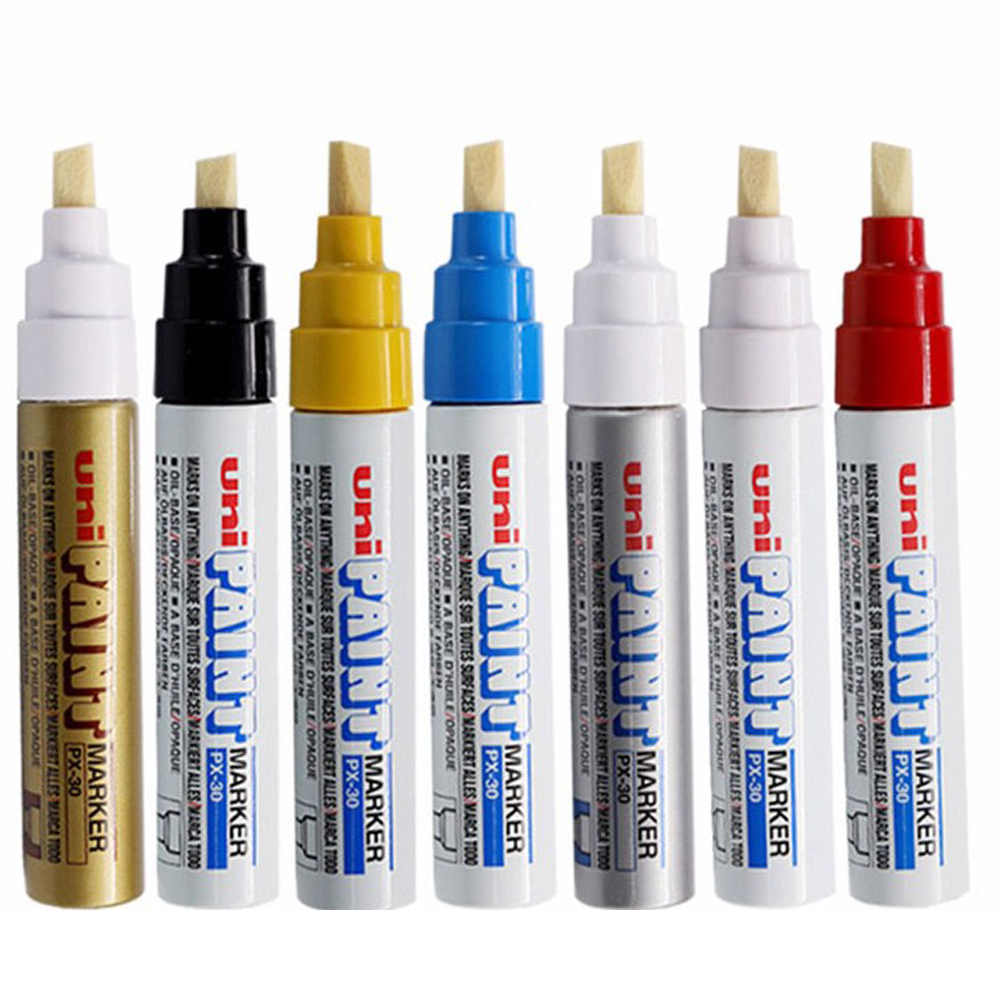 Px 30 Uni Paint Marker Pen Strong Covering Ofr Tire Painting Car Repair Buy Car Care Product Small Paint Maker Pen Px 21 Product On Alibaba Com