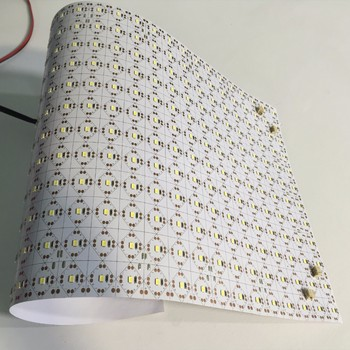 Cutting And Bending Ultra Thin Light Sheet Panels Led Backlight Foil Flexible Panel Flex Product On