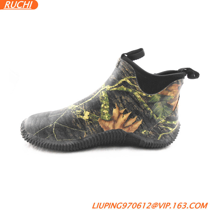 2015 Western Boots For Men Camo Brown Outdoor Fashion Comfortable ...