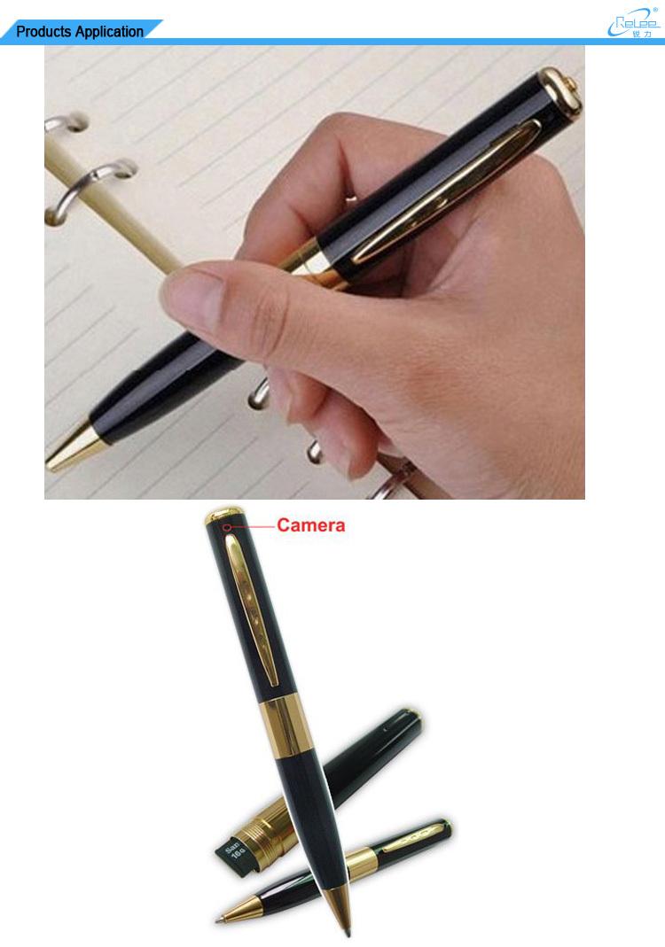 DVR Pen Digital 960p HD Video & Audio Hidden Camera Executive Pen Built-In Rechargeable Battery