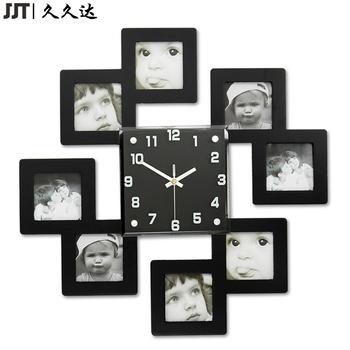 Cheap Modern Wall Clocks Mdf Wood Frame Wall Clock Design Home