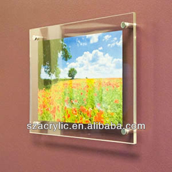 Plexigl A3 Acrylic Wall Mounted Photo Frames