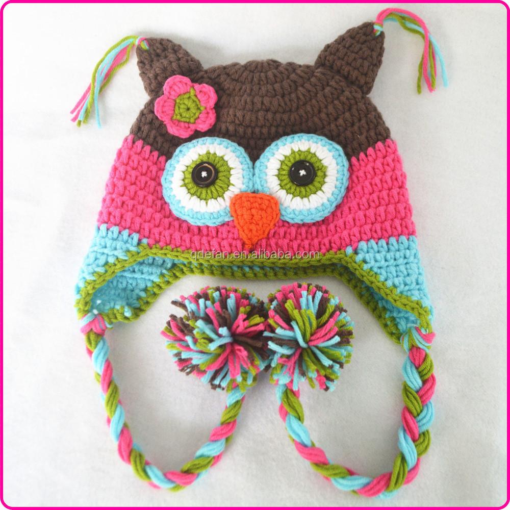 Gorros Crochet Bebe Animales