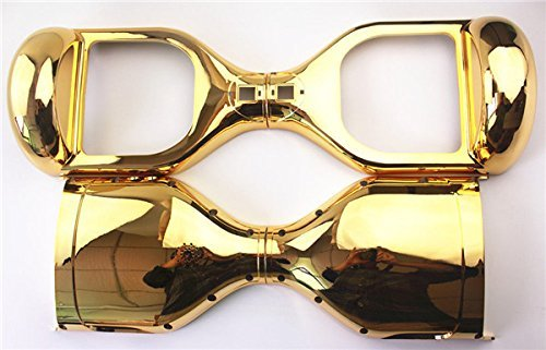 Gold Chrome Replacement Outer Cover Case Shell for 6.5 inch Smart Self Balance Wheel Electric Scooter Spare Parts