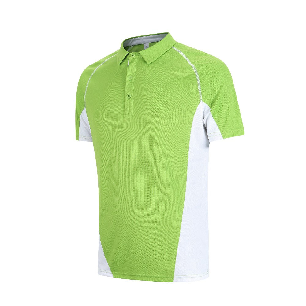 OEM factory short sleeve polo shirt O-neck 100 polyester fiber high quality men's polo shirt