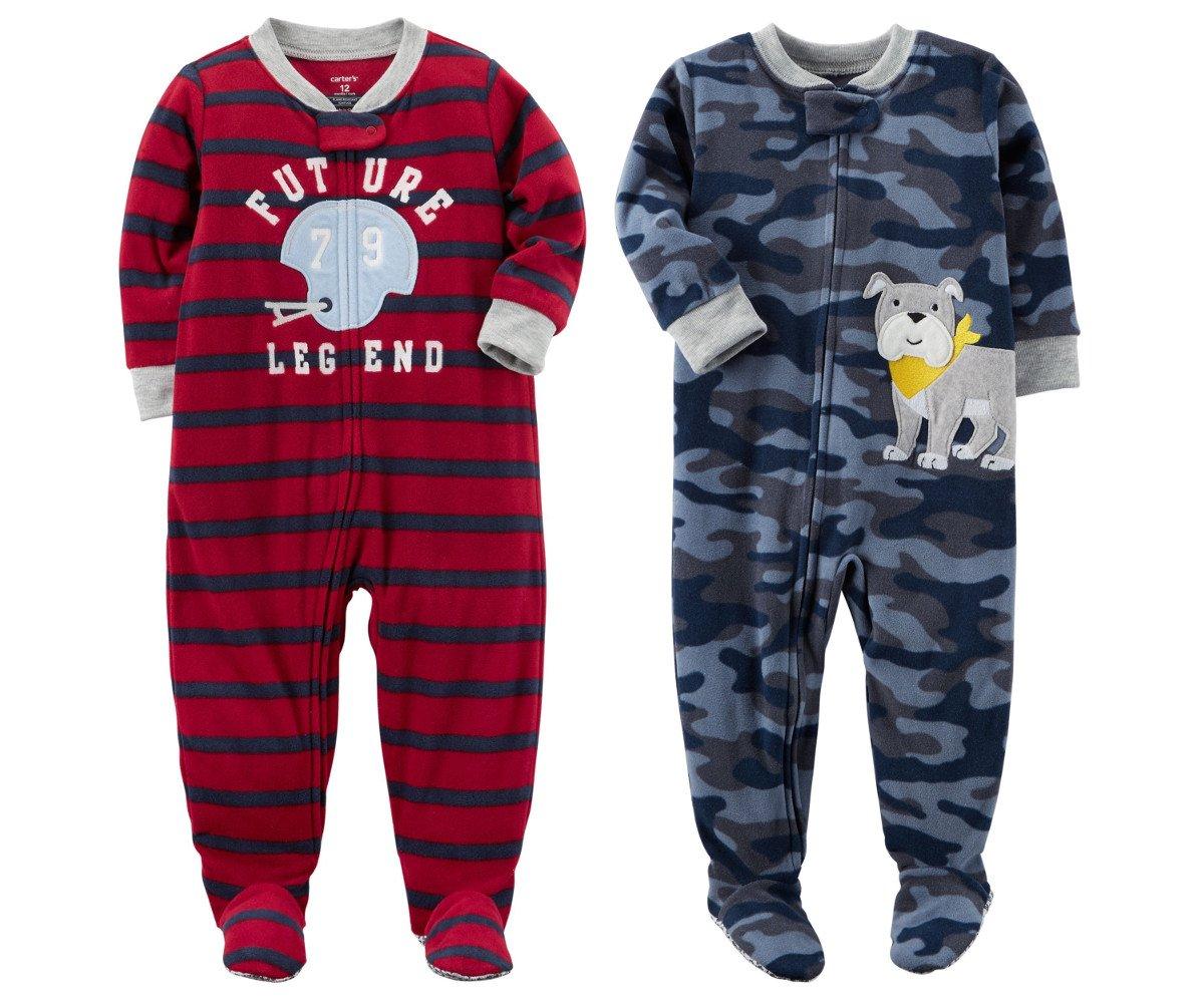 a0a7decbd8b8 Cheap Kids Fleece Footed Pajama