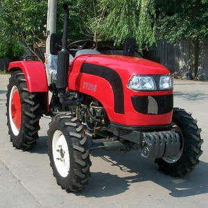 25hp 4wd mini wheel farmtrac tractors with front end loader