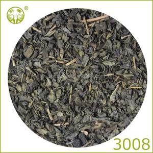 China wholesale extra green tea 3008 low price per kg
