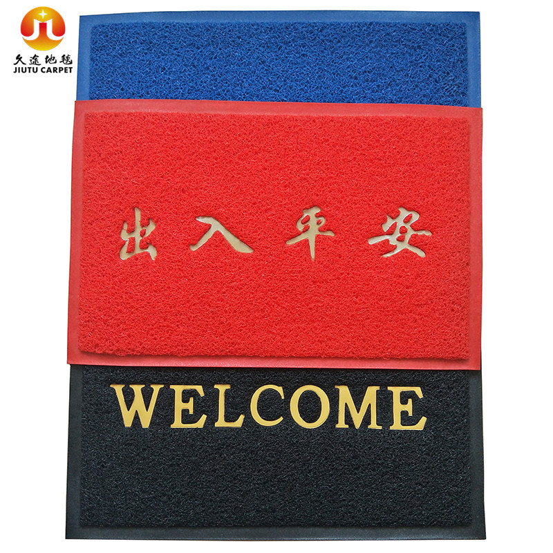 High quanlity with cheaper price customized outdoor welcome mat