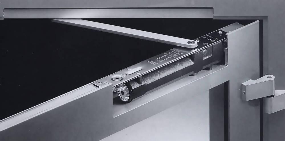 exclusive design stainless steel hydraulic overhead stainless steel door closer