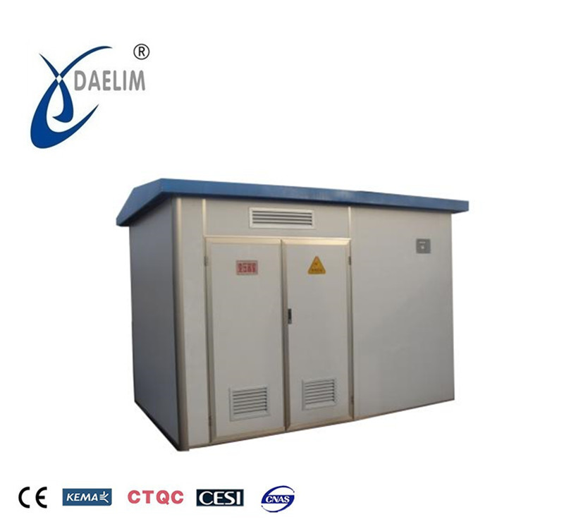 china ZGS 100kva oil immersed pad mounted transformer