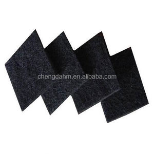 ABS Plastic frame felt wholesale polyurethane filter foam, activated carbon V Bank Air Filter good