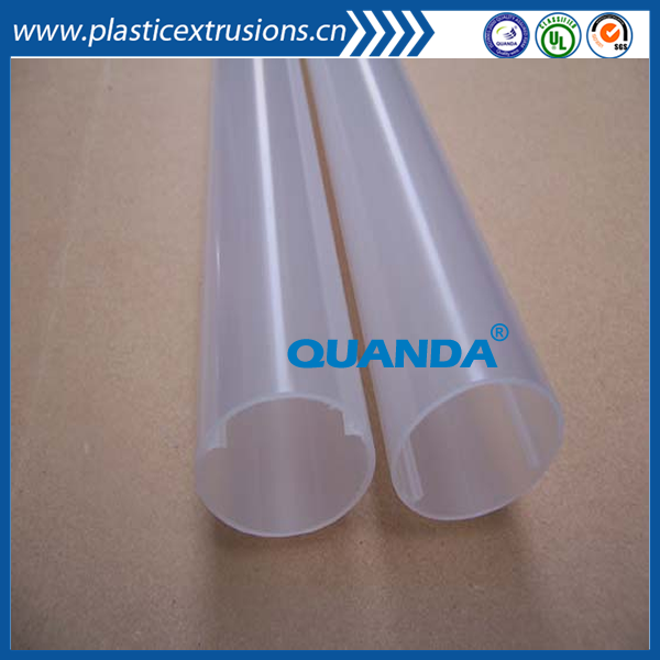 Clear Thin wall Plastic packaging tube PC Pipes