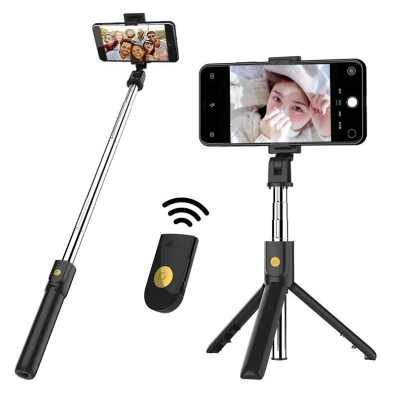 New K07 Bluetooth Selfie Stick Remote Tripod Mobile Universal Live Camera Artifact Multifunction selfie stick