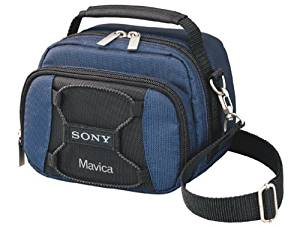 Sony LCS-MVCA Mavica Soft Carrying Case (Black/Blue)