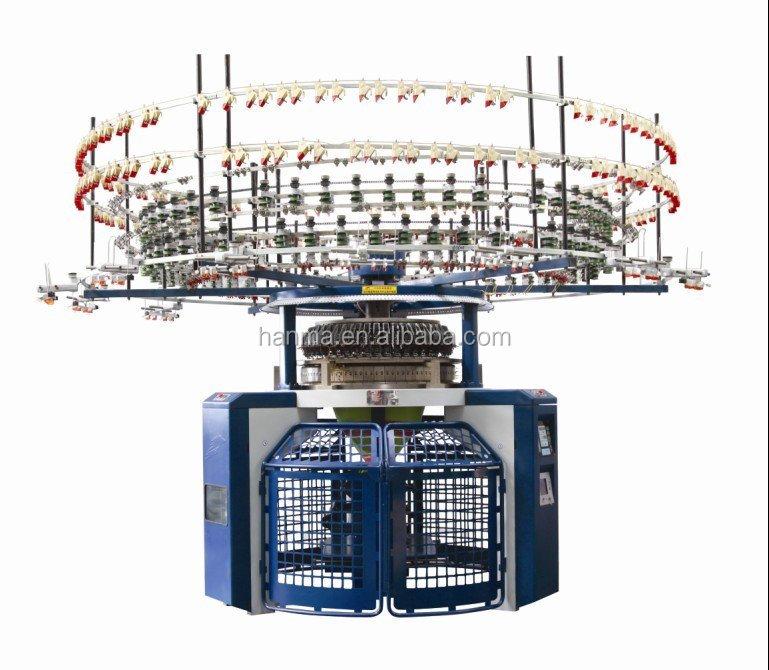 Computerized Single Jersey Auto-Striper circular  knitting machine (4/6)