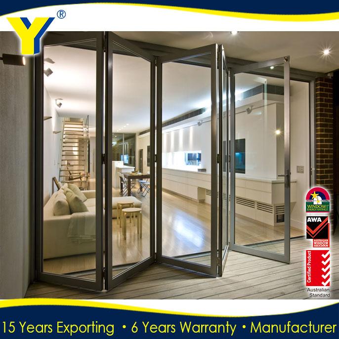 In alluminio con doppi vetri finestre e porte porta bifold - Doppi vetri finestre ...