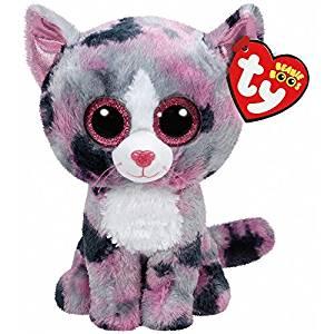 e3f44cd81fc Get Quotations · New TY Beanie Boos Cute Lindi the cat Plush Toys 6   15cm  Ty Plush